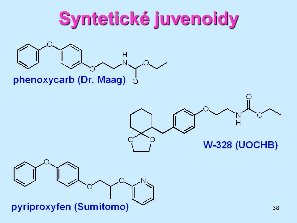 Syntetické juvenoidy