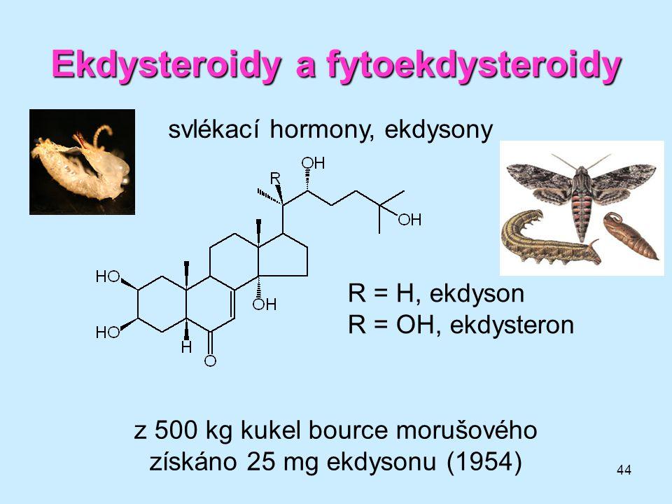 Ekdysteroidy a fytoekdysteroidy