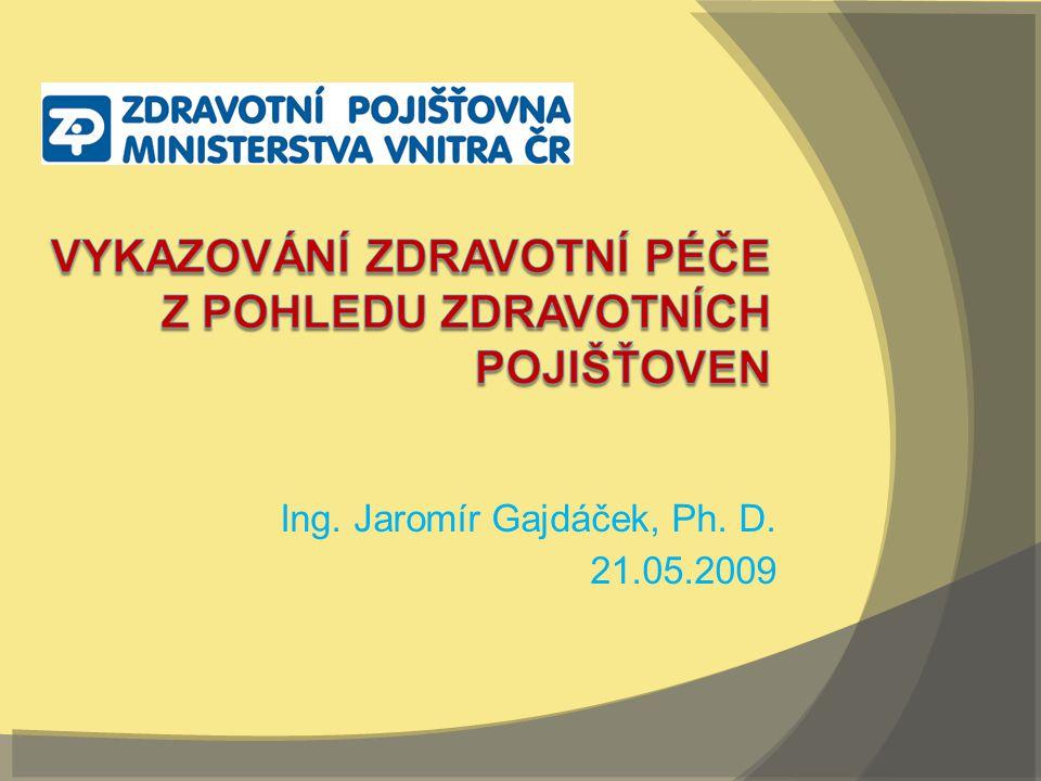 Ing. Jaromír Gajdáček, Ph. D. 21.05.2009