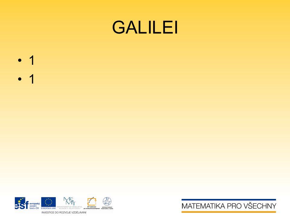 GALILEI 1