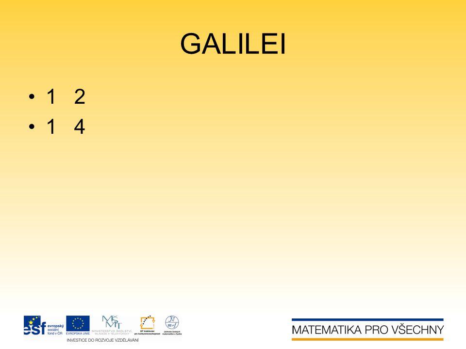 GALILEI 1 2 1 4