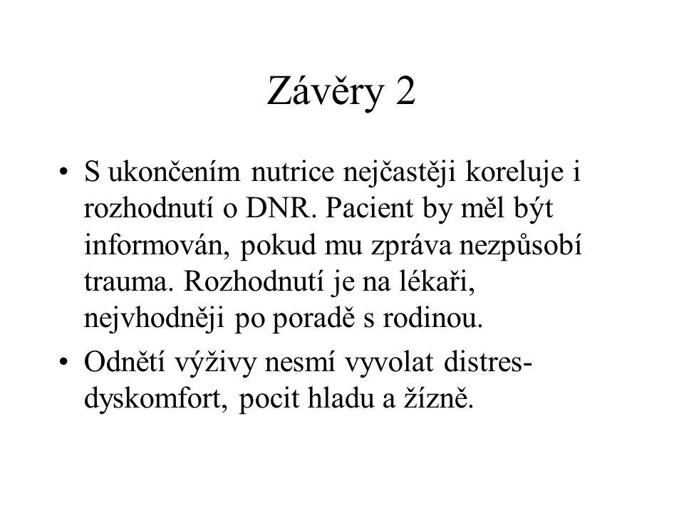 Závěry 2