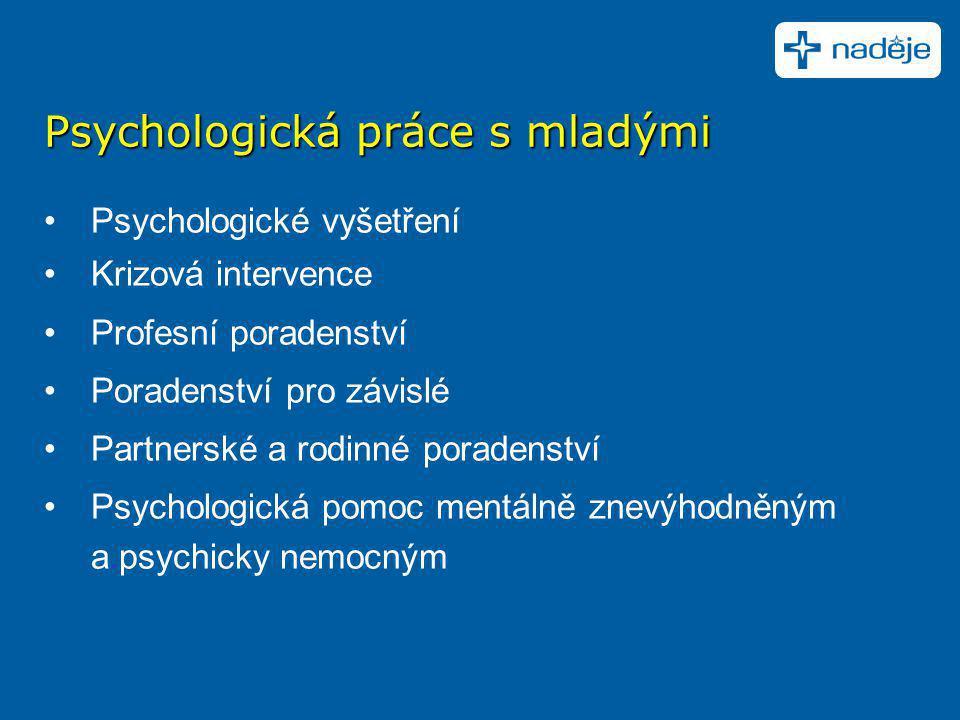 Psychologická práce s mladými