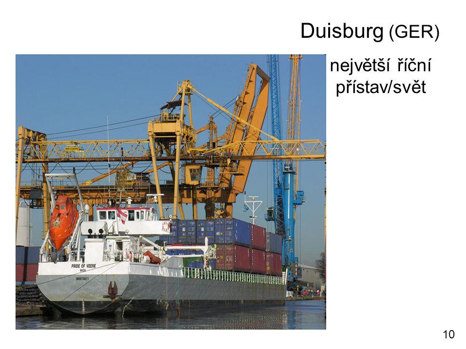 největší říční přístav/svět