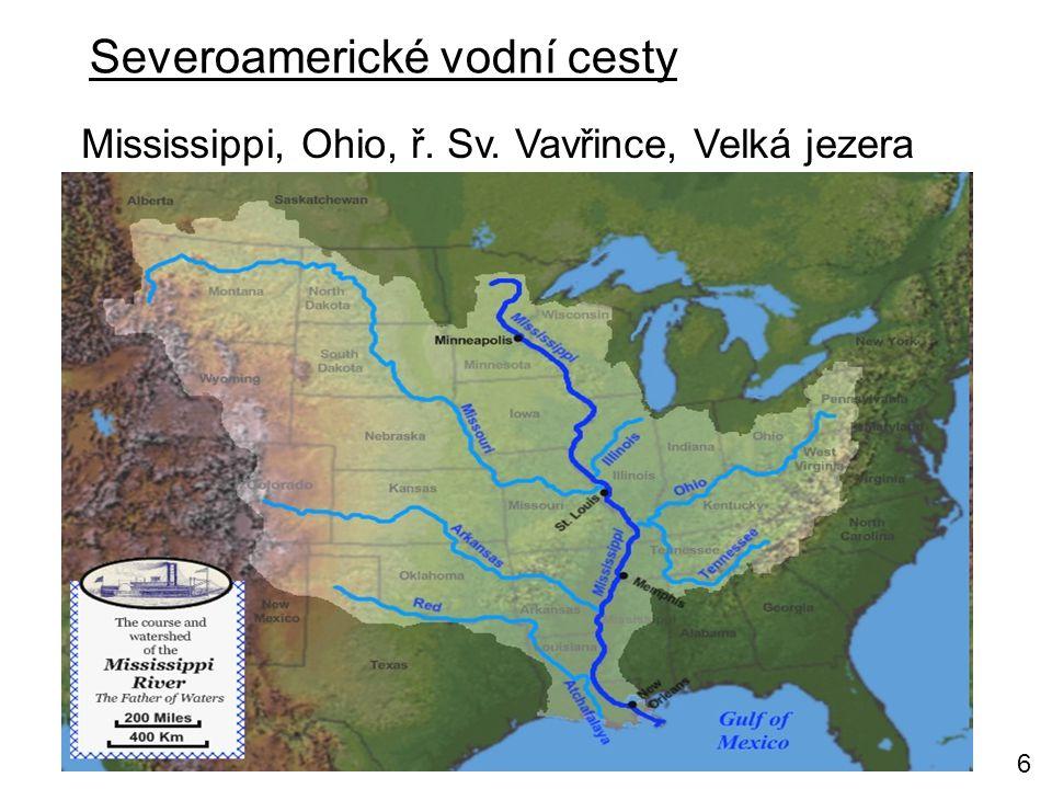 Severoamerické vodní cesty