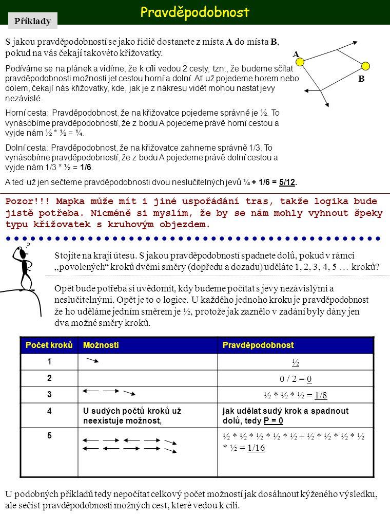 Pravděpodobnost Příklady