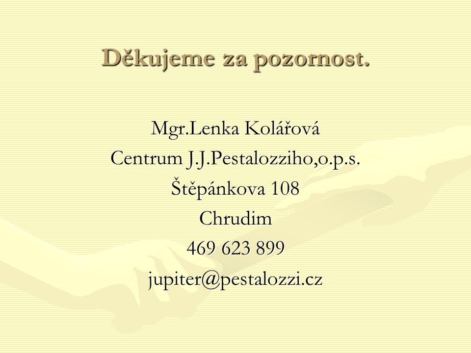 Centrum J.J.Pestalozziho,o.p.s.