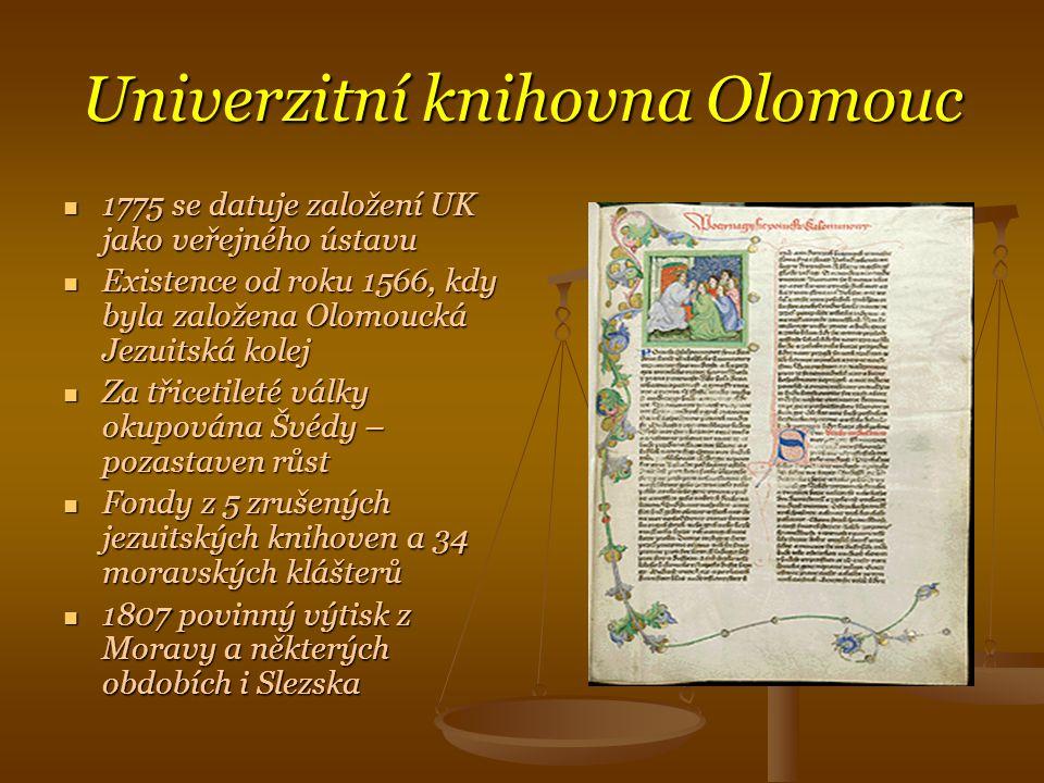 Univerzitní knihovna Olomouc