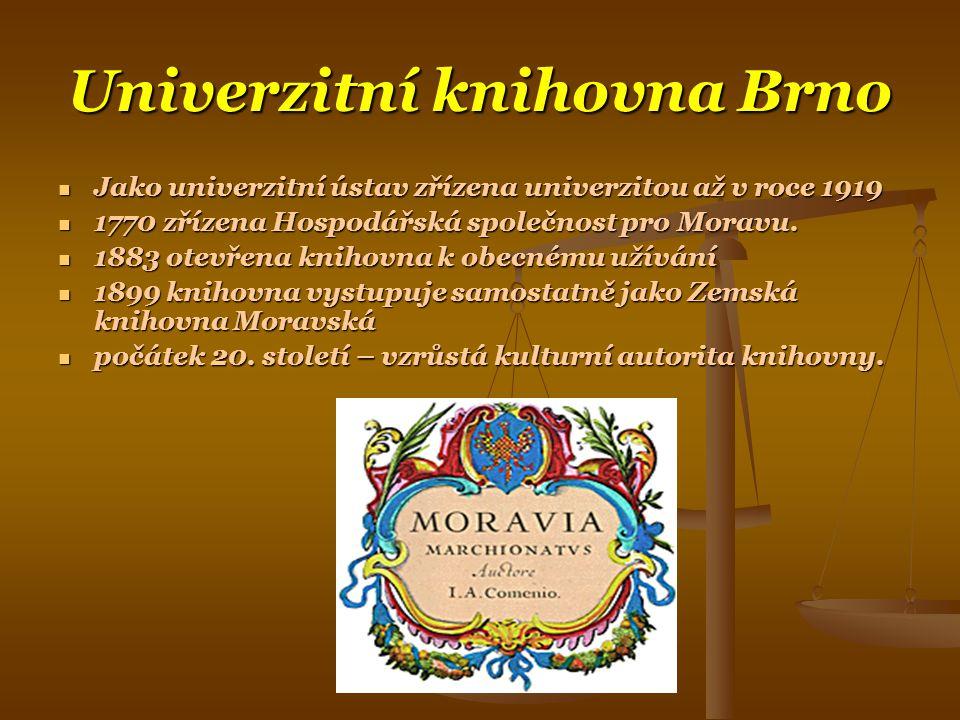 Univerzitní knihovna Brno