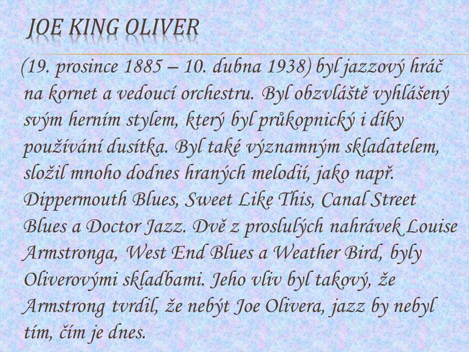 Joe King Oliver