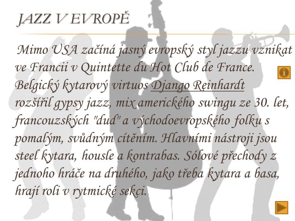 Jazz v Evropě