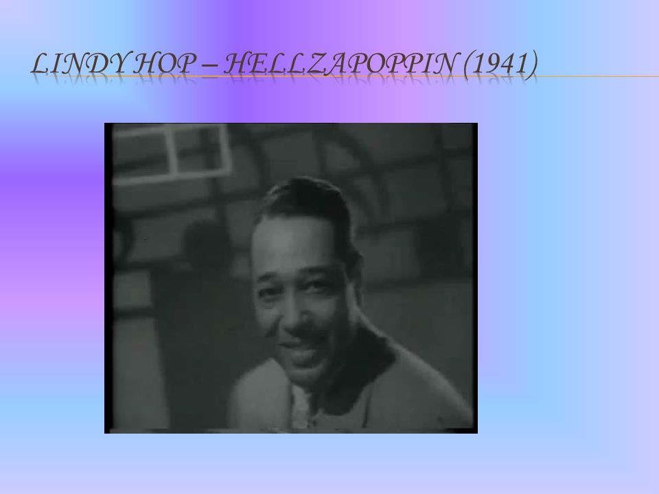 Lindy Hop – Hellzapoppin (1941)