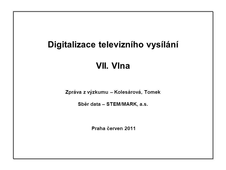 Digitalizace televizního vysílání VII