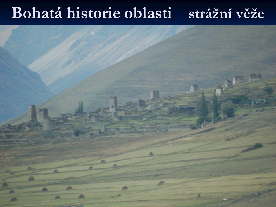 Bohatá historie oblasti strážní věže
