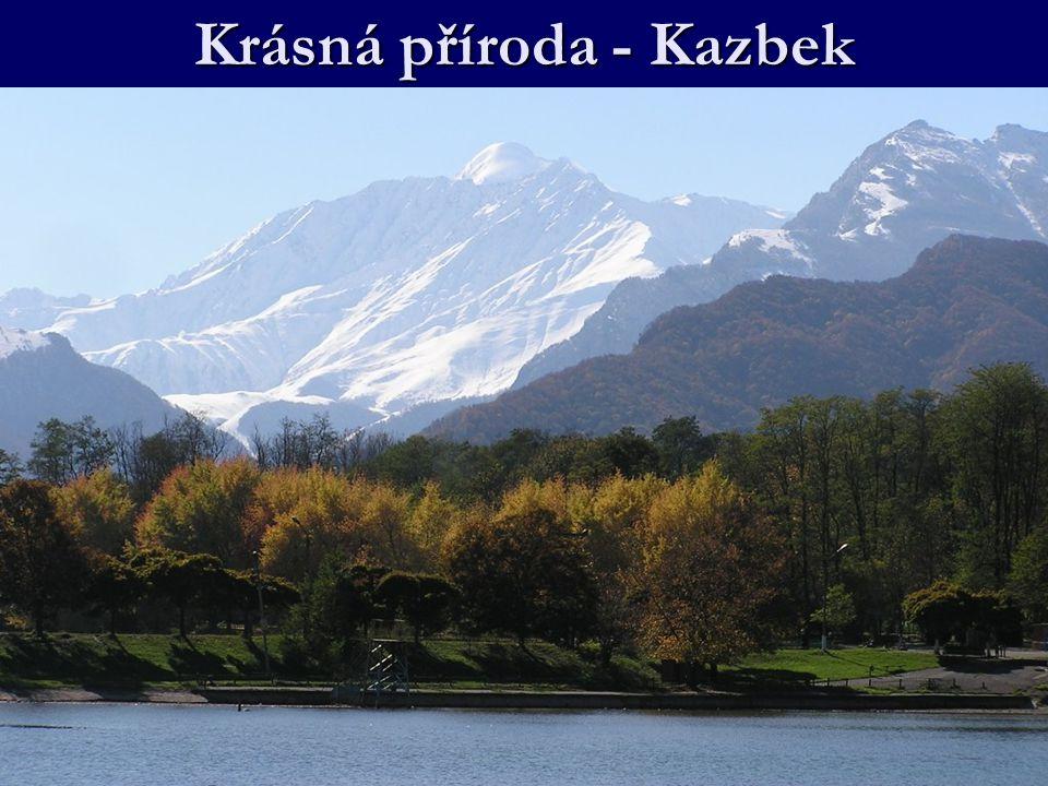 Krásná příroda - Kazbek