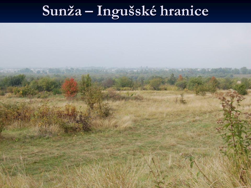 Sunža – Ingušské hranice