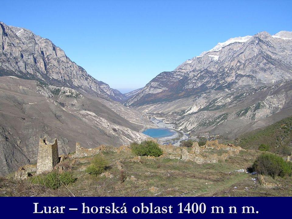 Luar – horská oblast 1400 m n m.