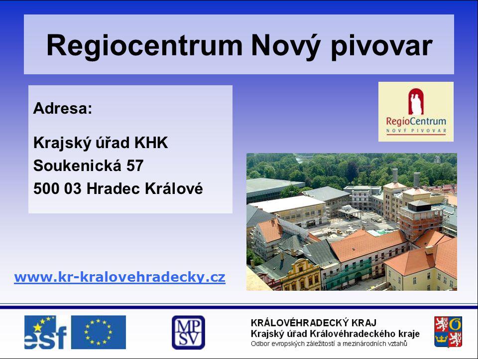 Regiocentrum Nový pivovar