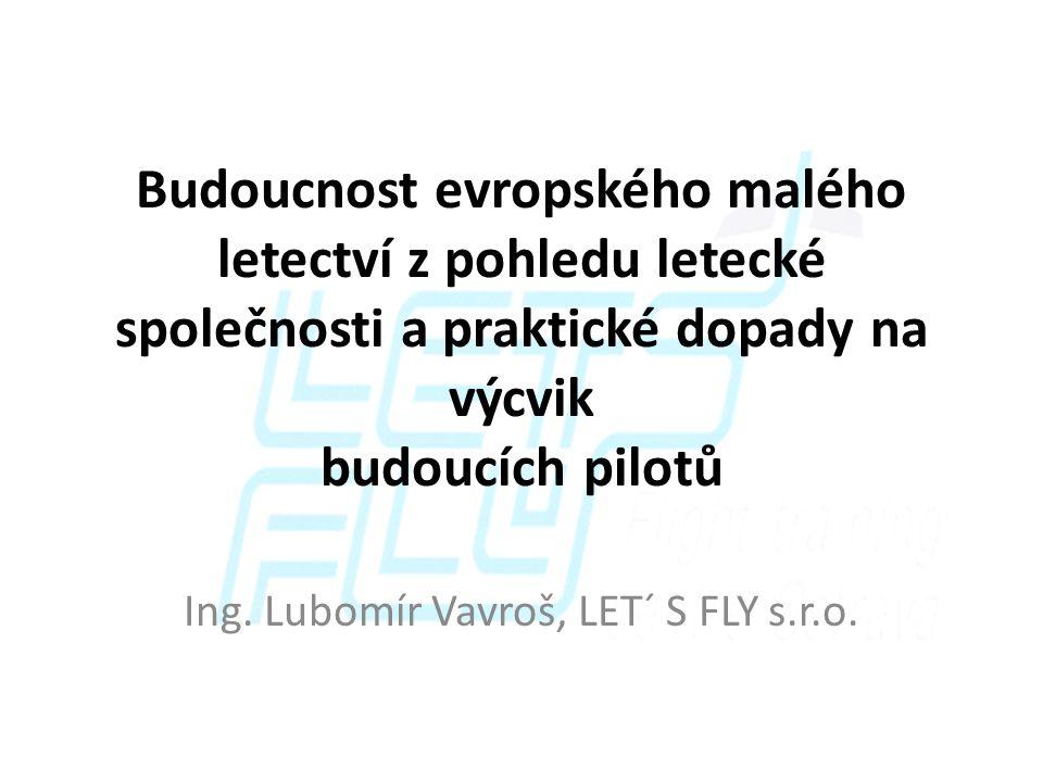Ing. Lubomír Vavroš, LET´ S FLY s.r.o.