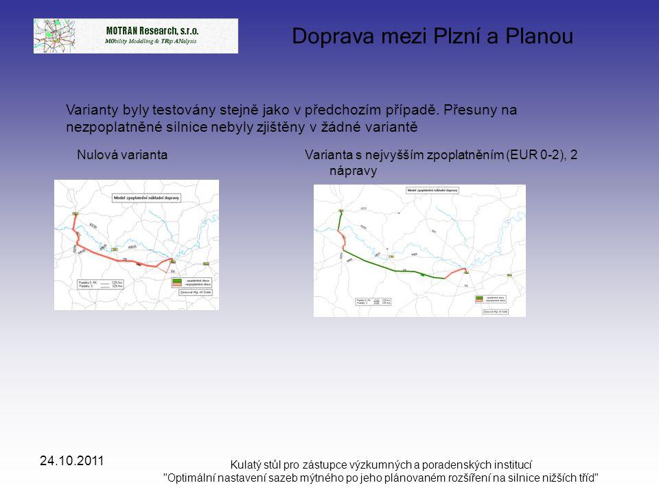 Doprava mezi Plzní a Planou