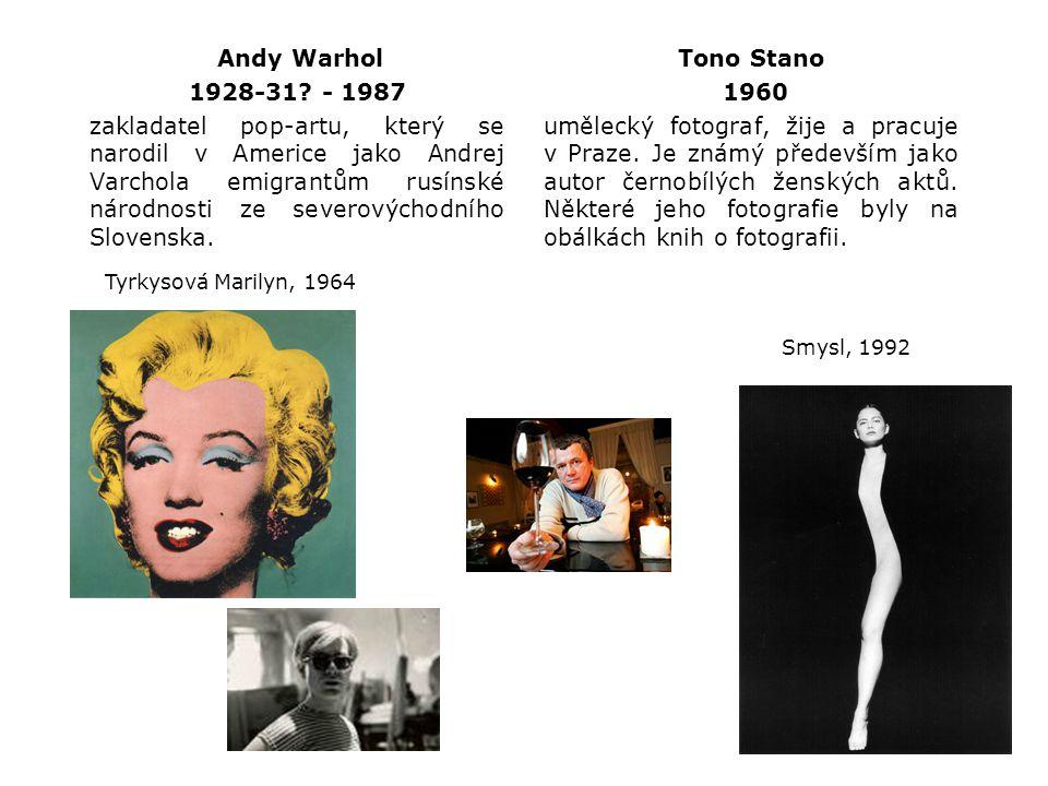Andy Warhol 1928-31 - 1987.