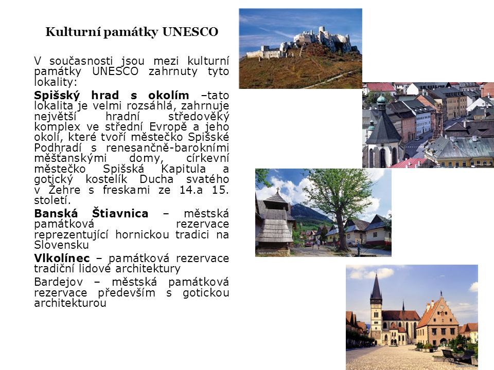 Kulturní památky UNESCO