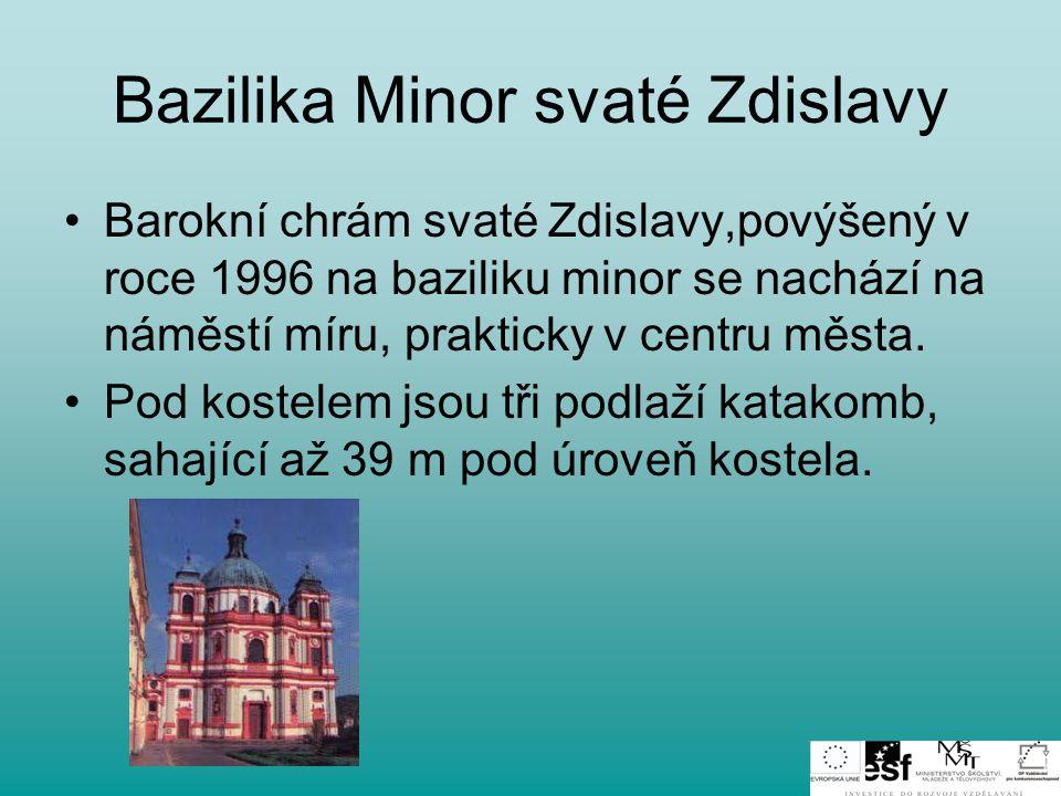 Bazilika Minor svaté Zdislavy