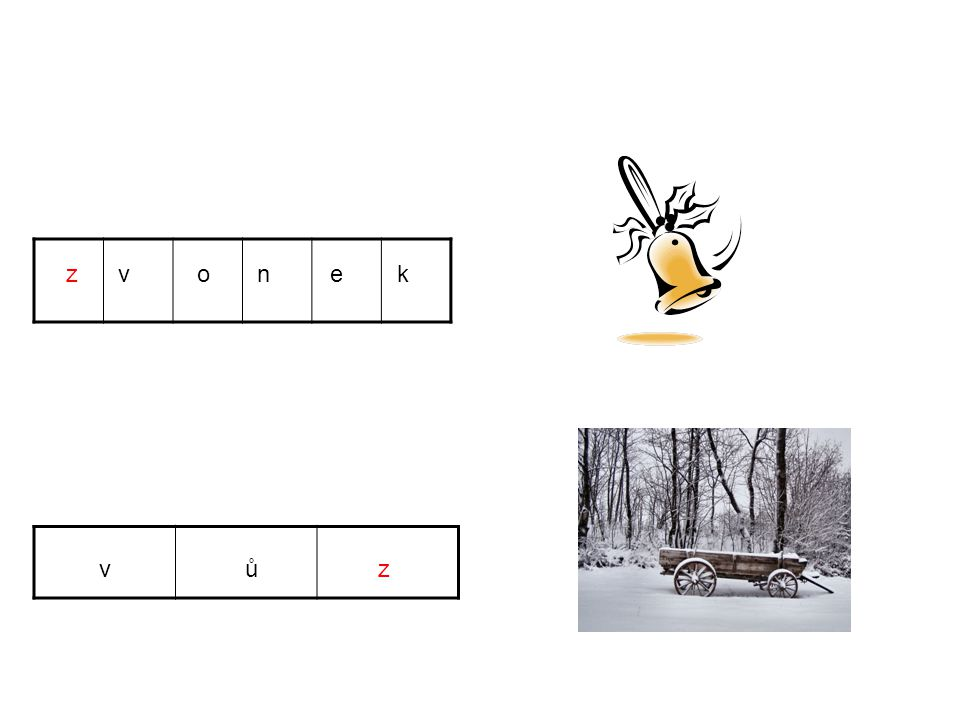 z v o n e k v ů z