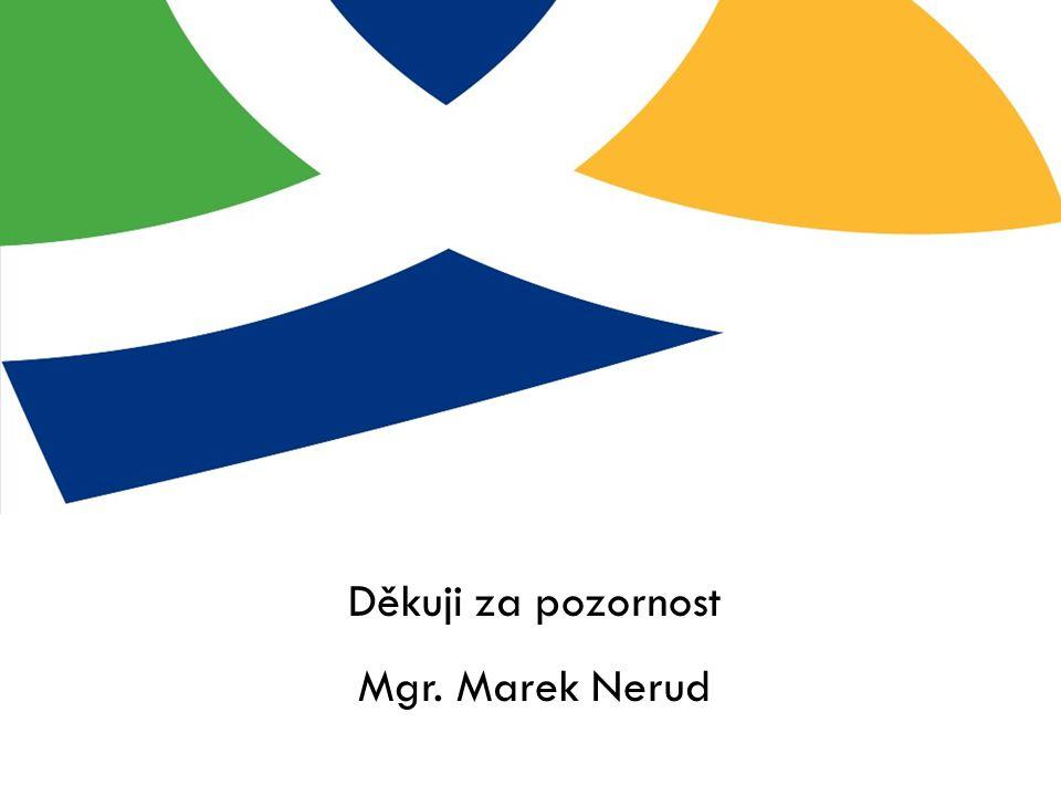 Děkuji za pozornost Mgr. Marek Nerud