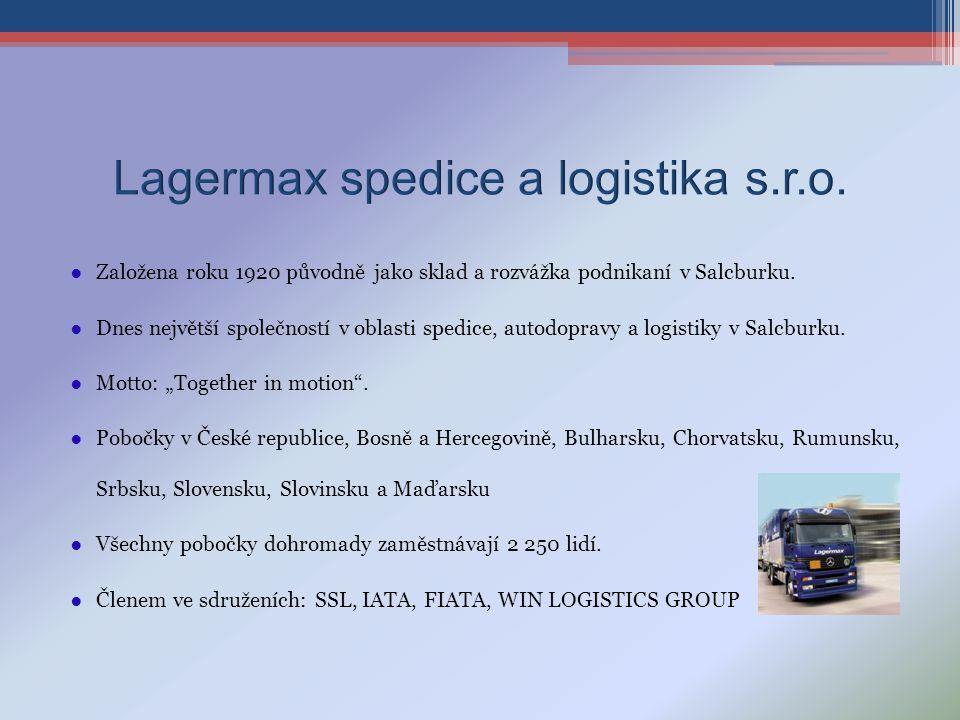 Lagermax spedice a logistika s.r.o.