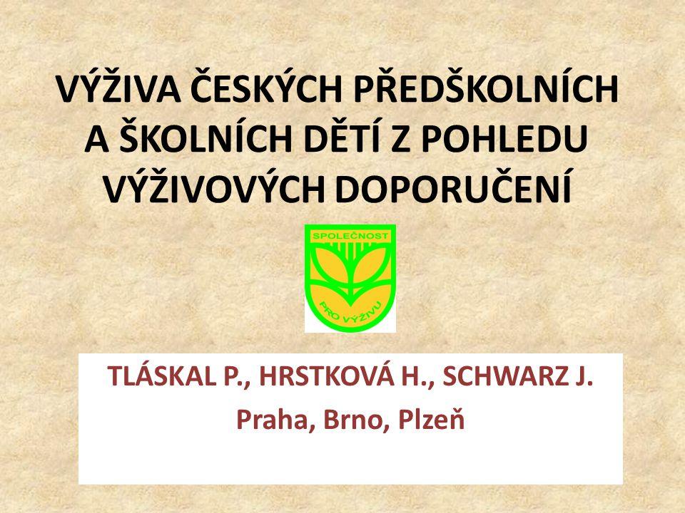 TLÁSKAL P., HRSTKOVÁ H., SCHWARZ J. Praha, Brno, Plzeň