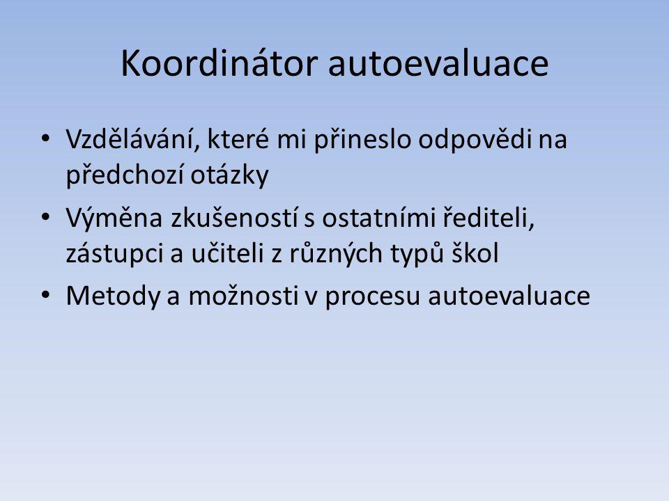 Koordinátor autoevaluace