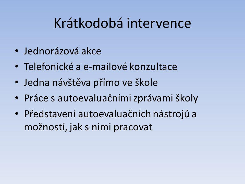 Krátkodobá intervence