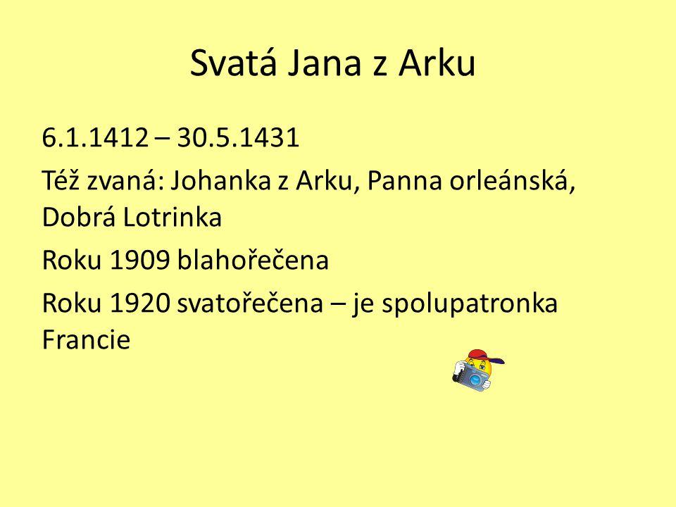 Svatá Jana z Arku