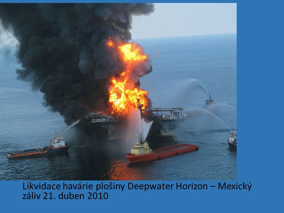 Likvidace havárie plošiny Deepwater Horizon – Mexický záliv 21
