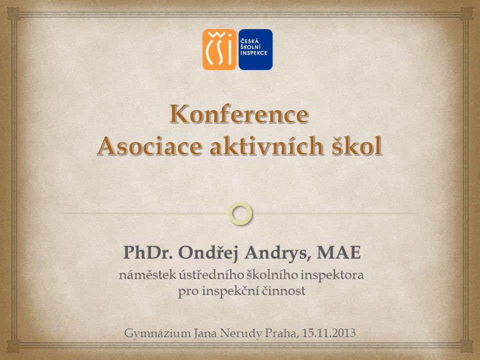 Konference Asociace aktivních škol