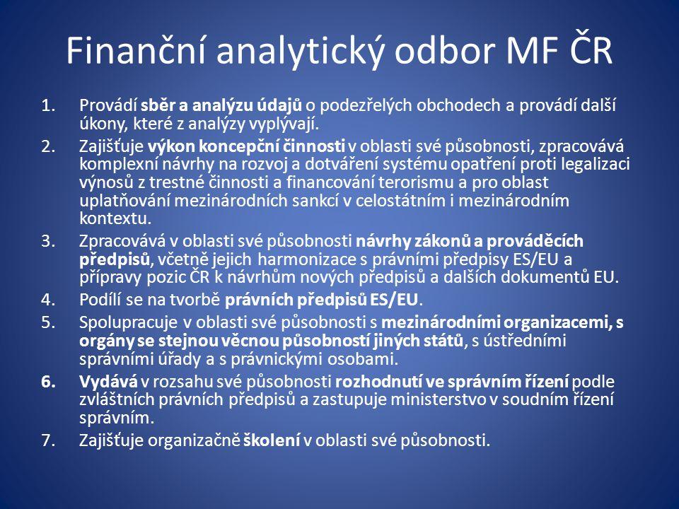 Finanční analytický odbor MF ČR