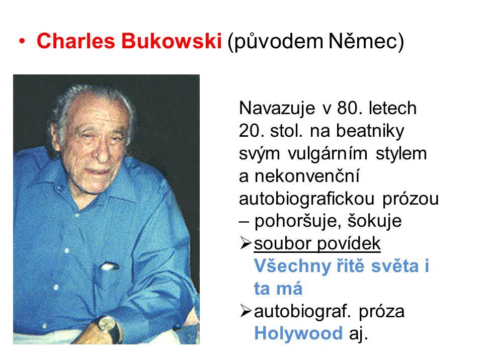 Charles Bukowski (původem Němec)