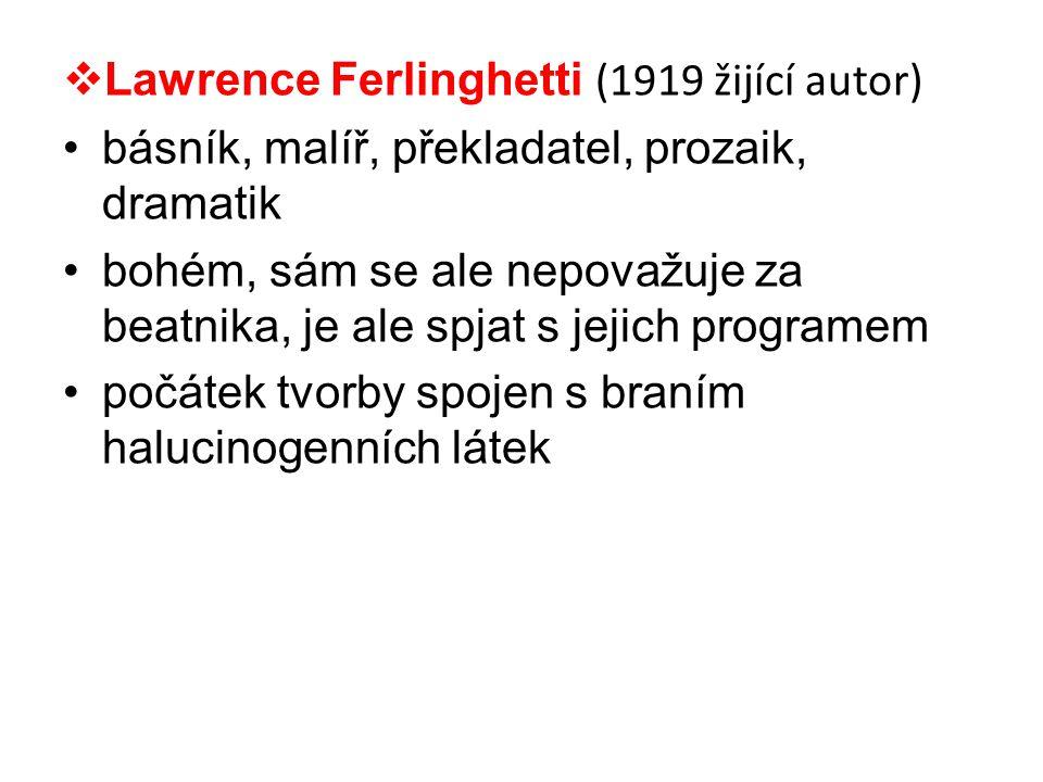 Lawrence Ferlinghetti (1919 žijící autor)