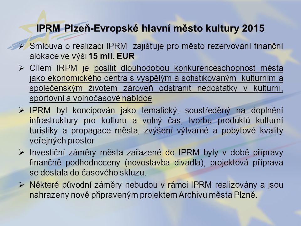 IPRM Plzeň-Evropské hlavní město kultury 2015