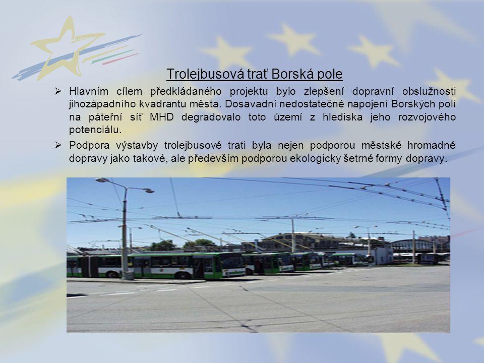 Trolejbusová trať Borská pole