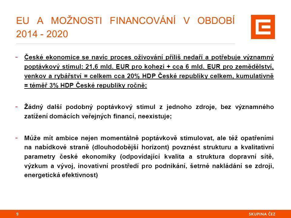 DOHODA O PARTNERSTVÍ A PROSTŘEDÍ, VE KTERÉM VZNIKÁ: ČESKÁ REPUBLIKA A JEJÍ ZKUŠENOSTI Z OBDOBÍ 2007 - 2013