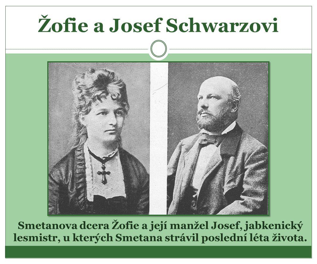 Žofie a Josef Schwarzovi