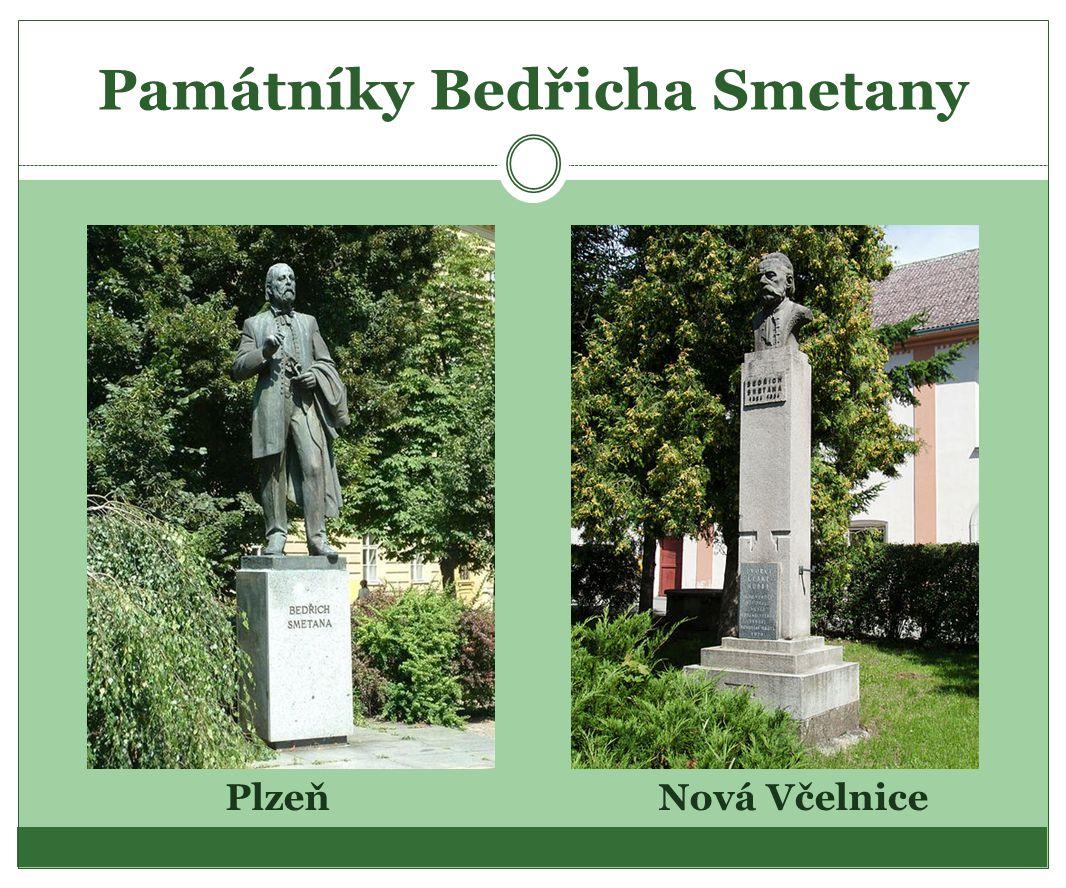 Památníky Bedřicha Smetany