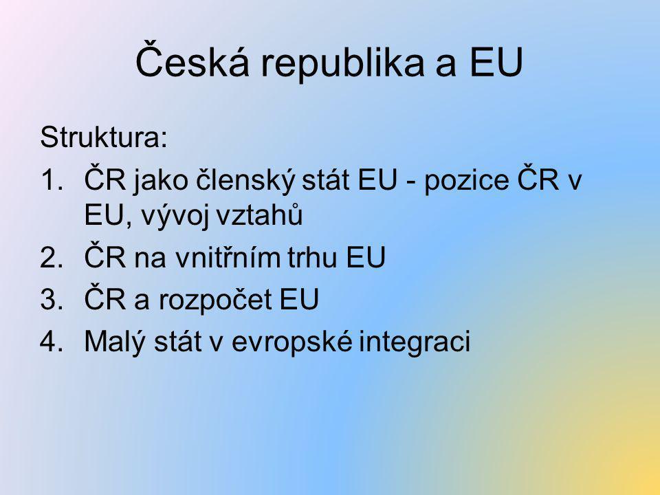 Česká republika a EU Struktura:
