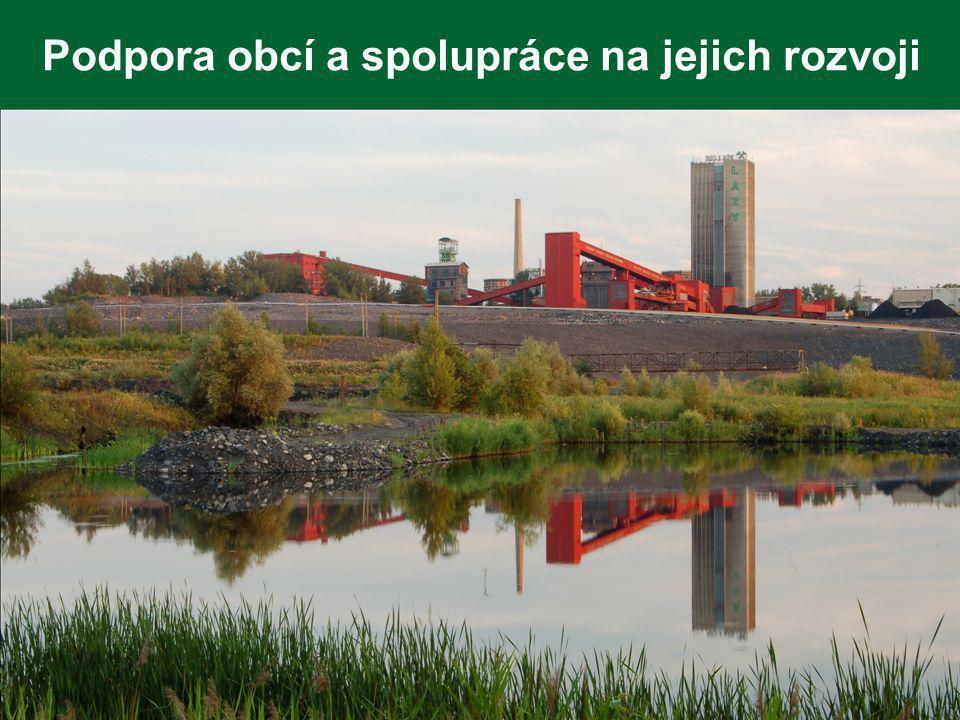 Podpora obcí a spolupráce na jejich rozvoji
