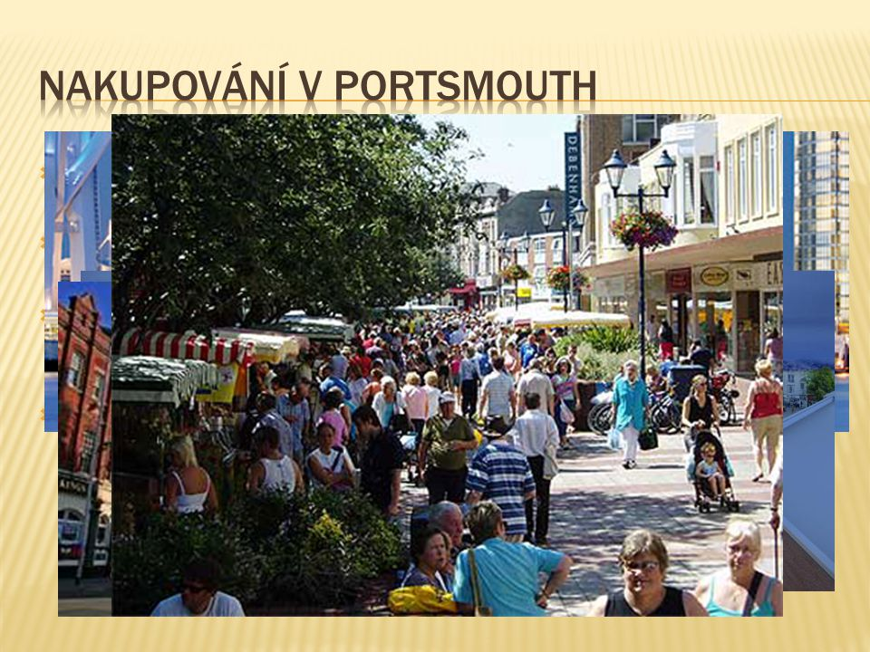 NAKUPOVÁNÍ v portsmouth