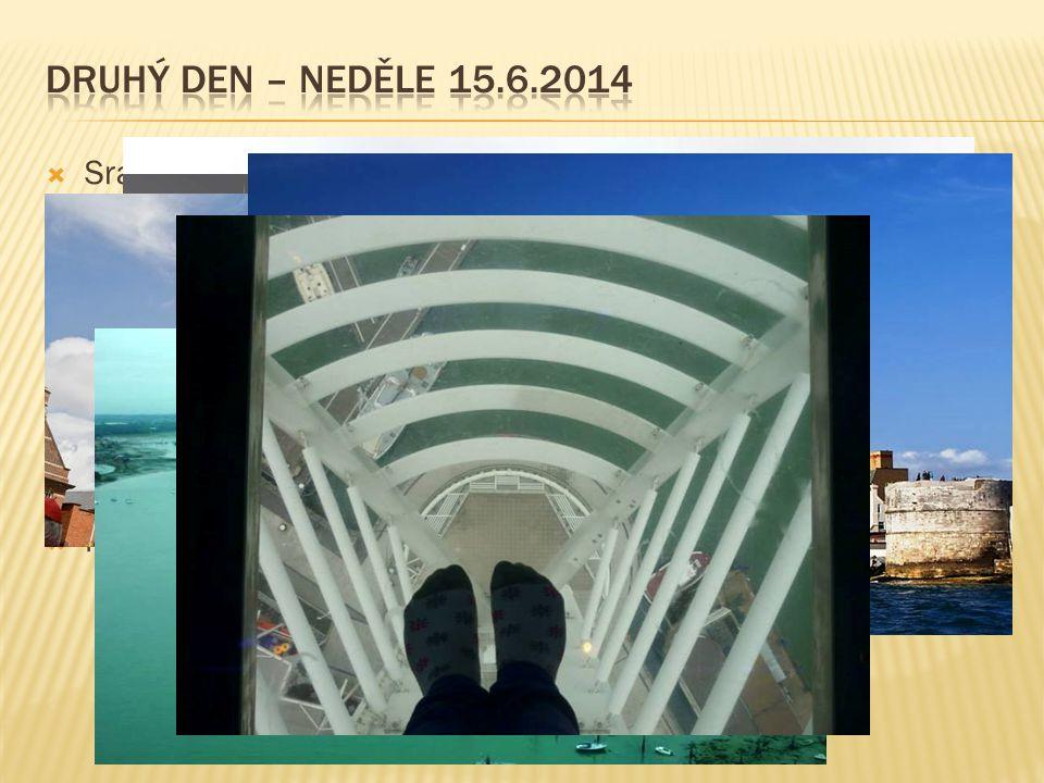 Druhý den – neděle 15.6.2014 Sraz před nádražím 10:00