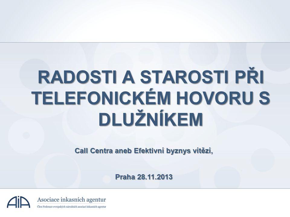 RADOSTI A STAROSTI PŘI TELEFONICKÉM HOVORU S DLUŽNÍKEM