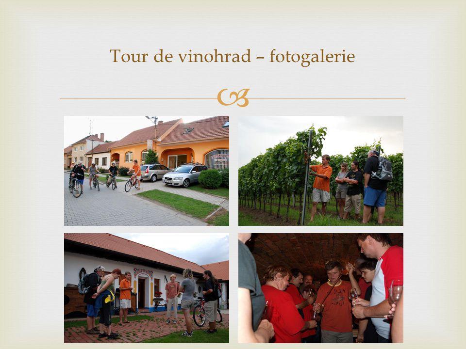 Tour de vinohrad – fotogalerie